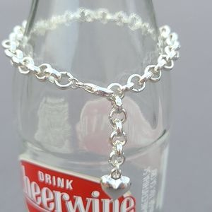 Adjustable Heart Bracelet